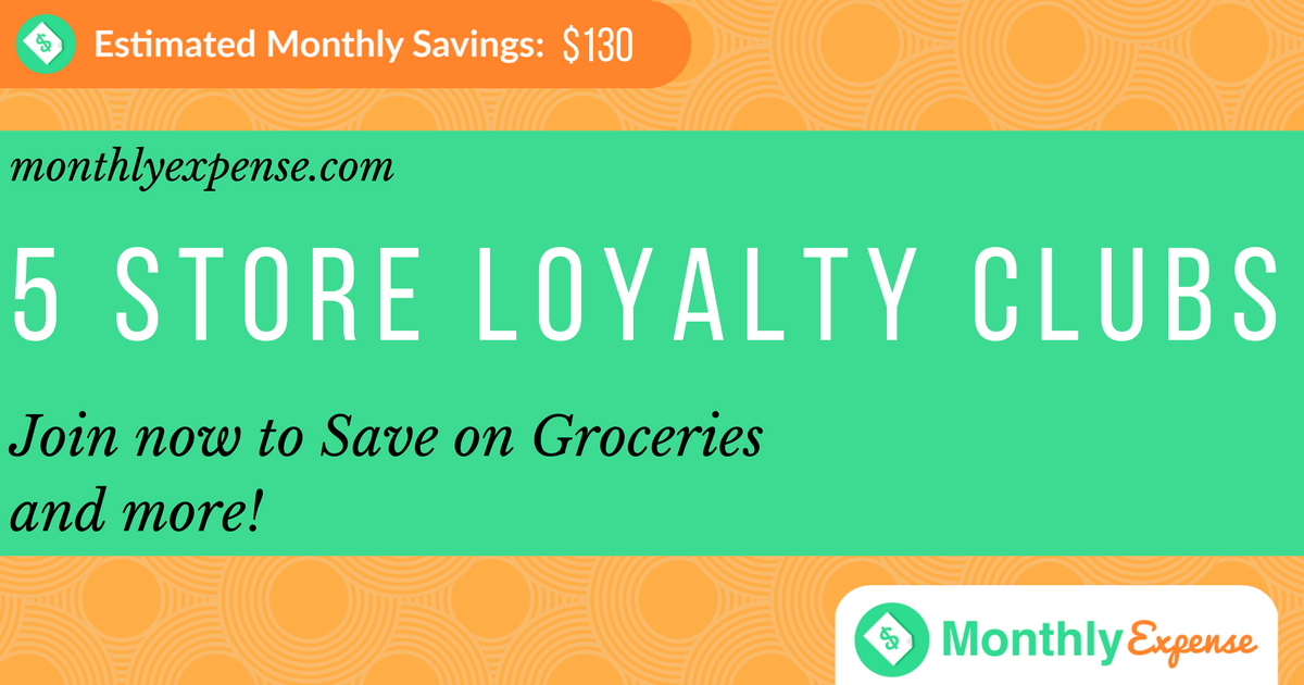 5 Store Loyalty Clubs: Save on Groceries and more