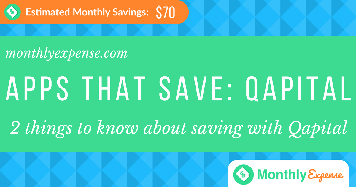 Check out this App! 2 things to know about saving with Qapital
