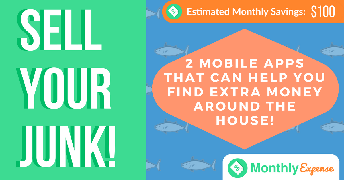 2 Mobile Apps that can help you find extra money around the house!