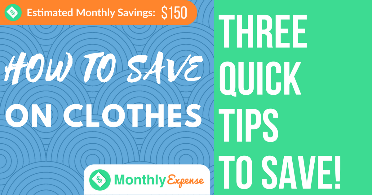 3 Ways to Save Big on Clothing Purchases by Shopping Discounts and Clearance
