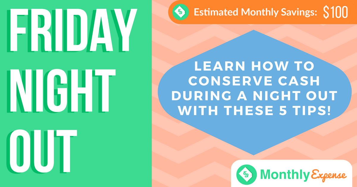 5 Tips to Save Money During a Night of Fun with Friends