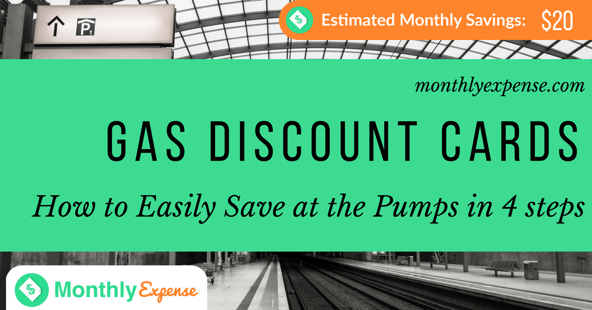 Gas Discount Cards: How to Easily Save at the Pumps in 4 steps