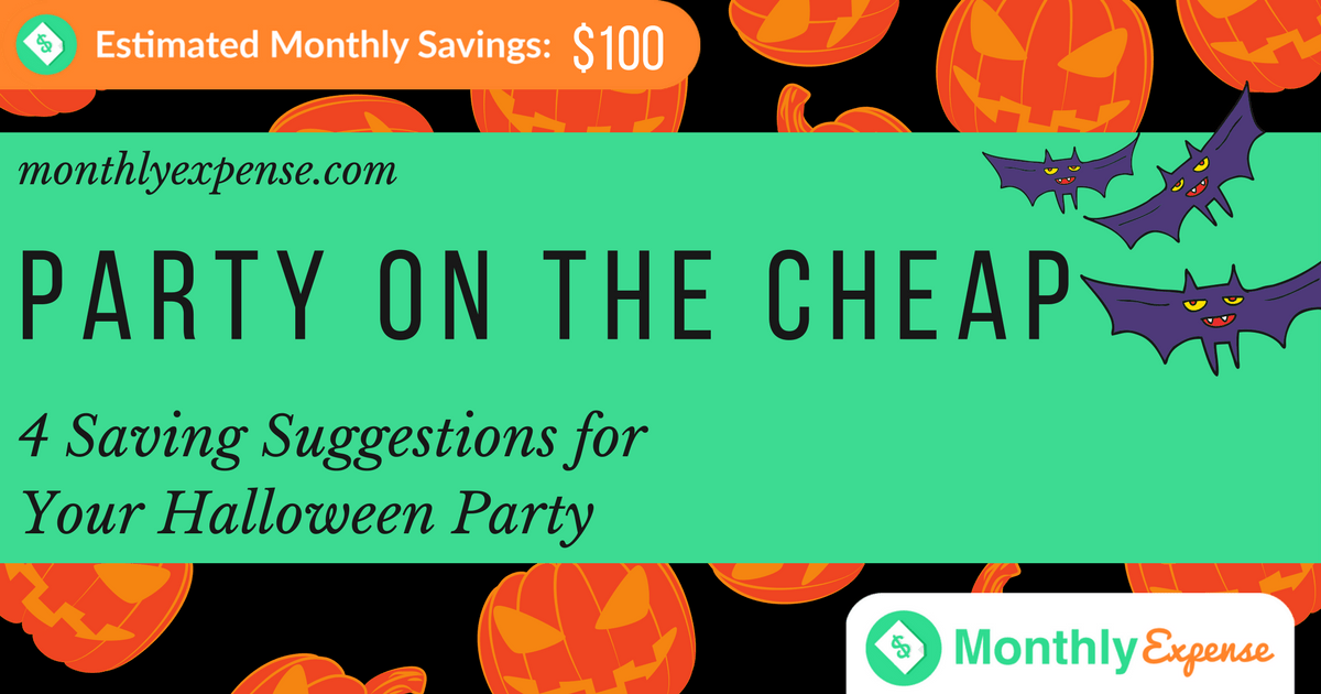 4 Saving Suggestions for Your Halloween Party