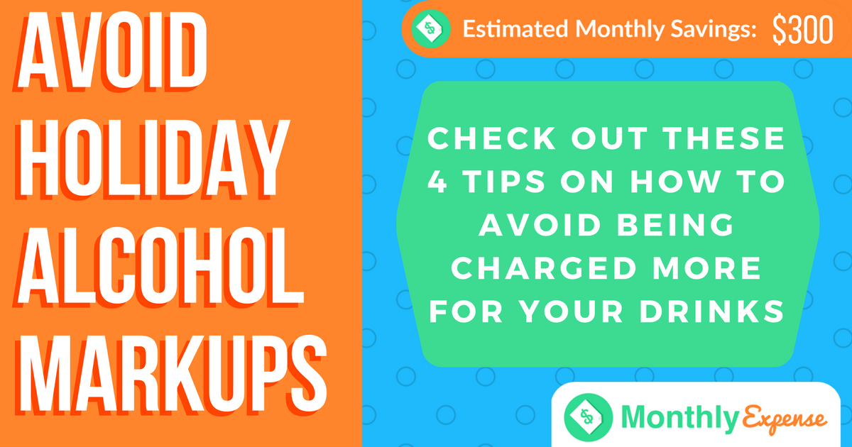 4 Tips to Avoid Holiday Alcohol Markups