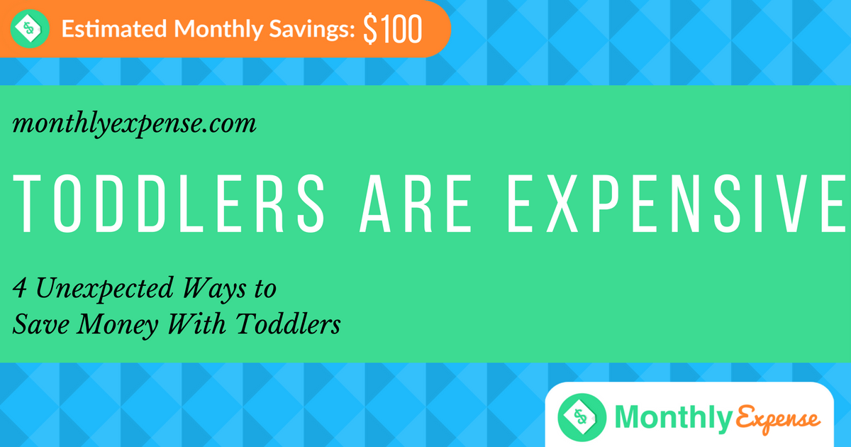 4 Unexpected Ways to Save Money With Toddlers