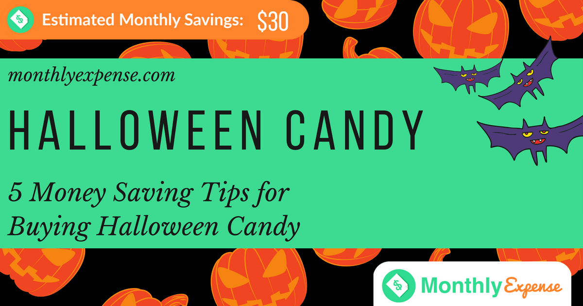 5 Money Saving Tips for Buying Halloween Candy