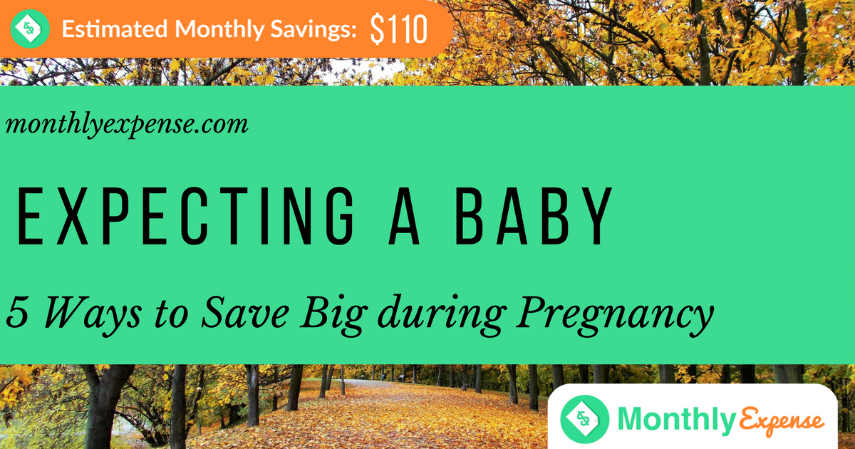 5 Ways to Save Big When Expecting a Baby