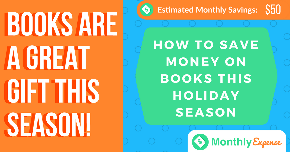 How to Save Money on Books This Holiday Season