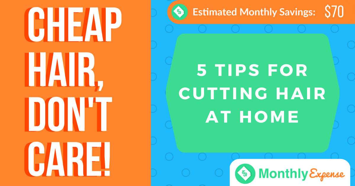 5 Tips for Cutting Hair at Home