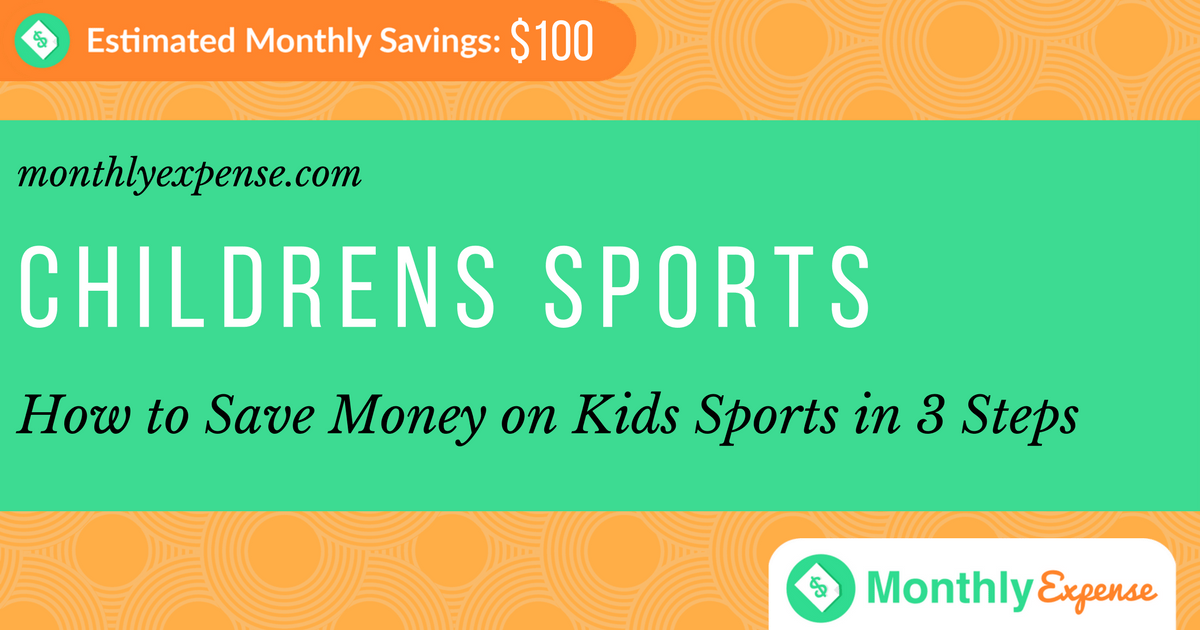 How to Save Money on Kids Sports in 3 Steps