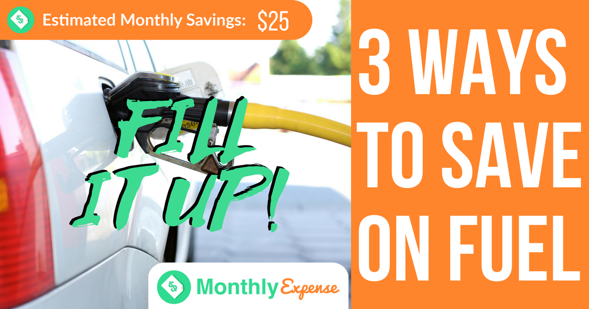 3 Ways to Save Money at the Pump