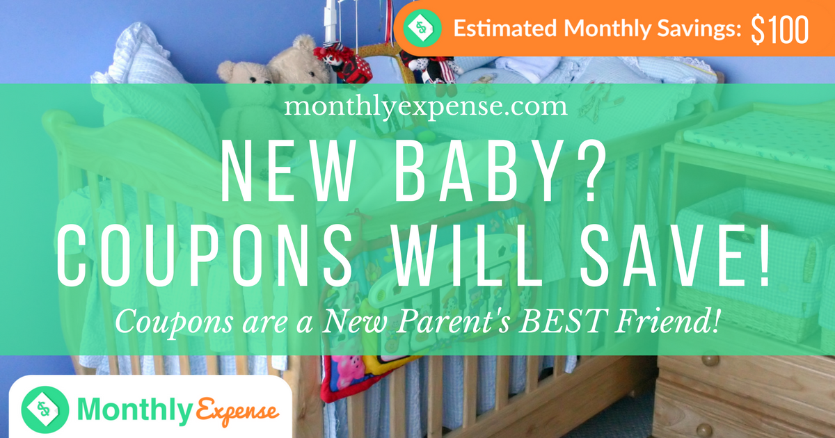 Coupons are a New Parent's BEST Friend!