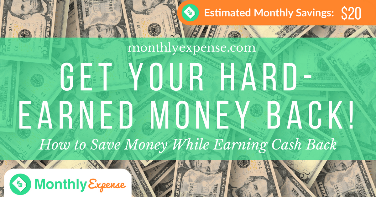 How to Save Money While Earning Cash Back