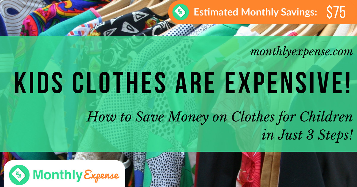 How to Save Money on Clothes for Children in Just 3 Steps