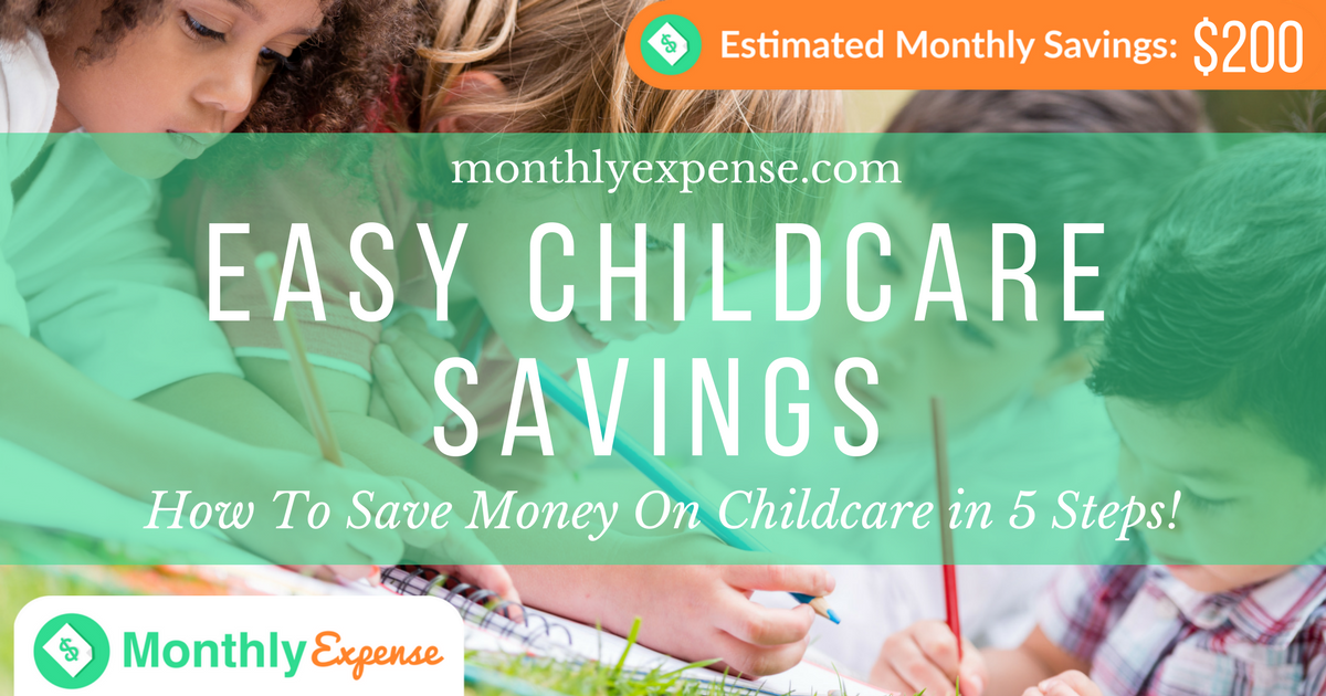 How To Save Money On Childcare in 5 Steps