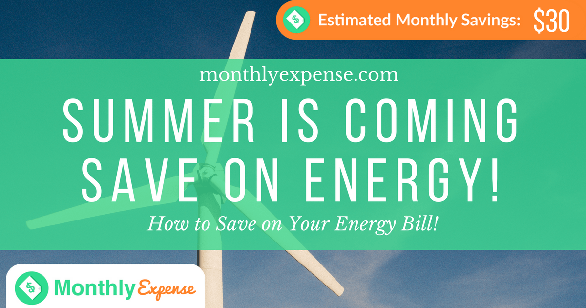 How to Save on Your Energy Bill