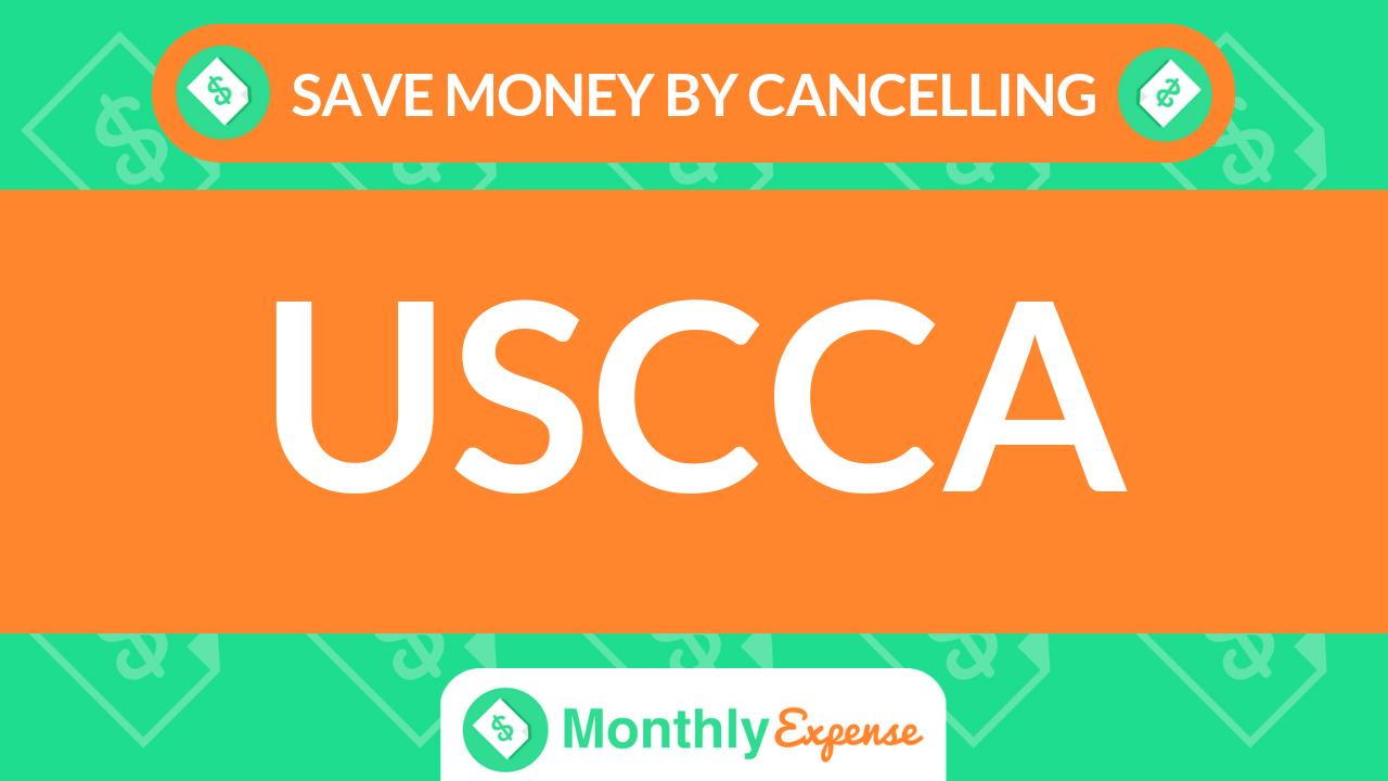 Save Money By Cancelling USCCA