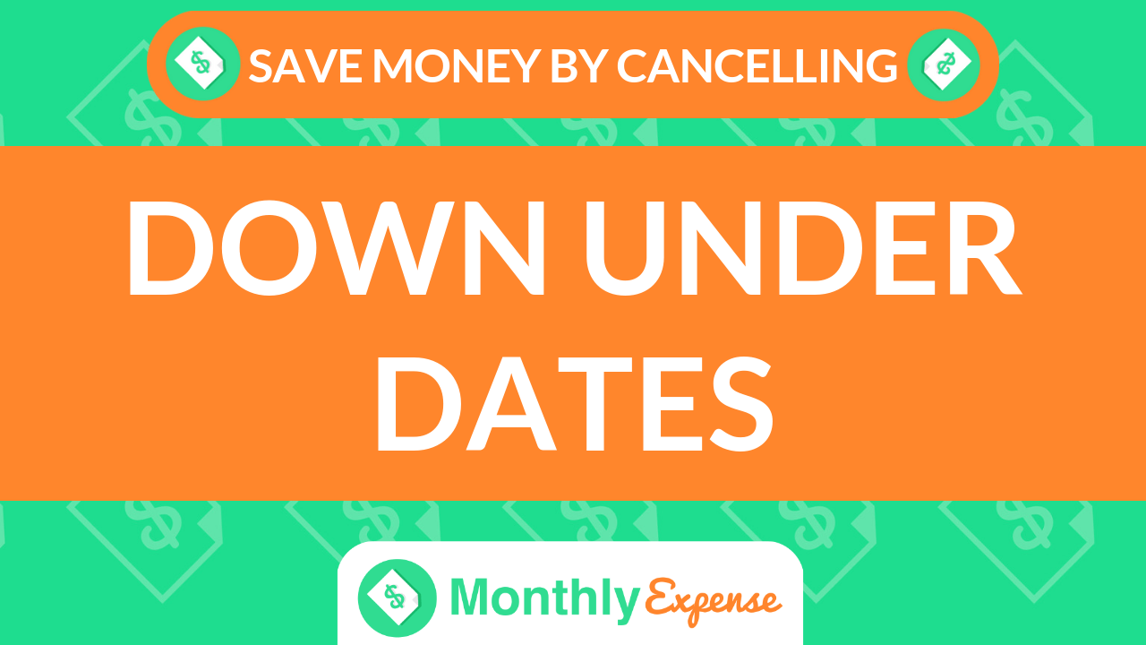 Save Money By Cancelling Down Under Dates